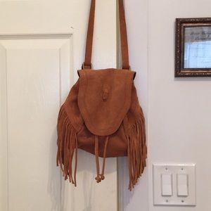 Handbags - Ecoté fringe shoulder bag